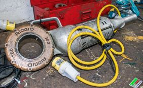 Ridgid 700 110v pipe threader