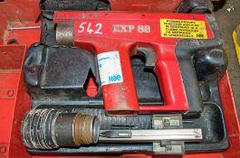 EXP 88 nail gun c/w carry case