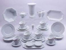 "Kaffee-Service, Rosenthal, 20.Jh., Form ""Maria Weiß"", 53-tlg., Porzellan, H: 23cm (Vase), 2. Wahl2"
