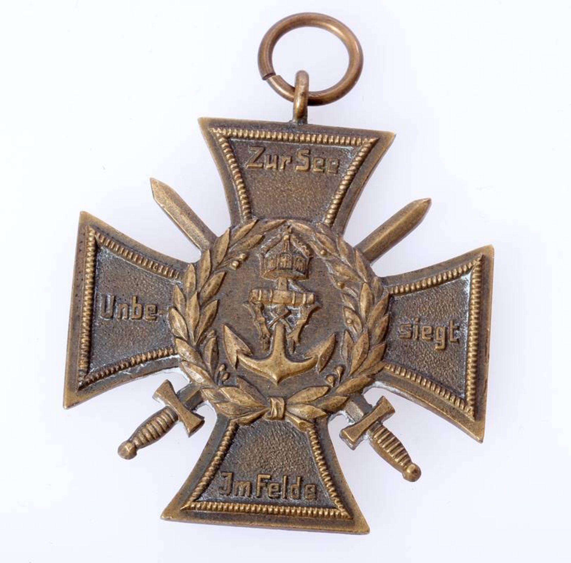 Erinnerungskreuz Marinekorps FlandernEhren- und Erinnerungskreuz Marinekorps Flandern ( - Bild 2 aus 2