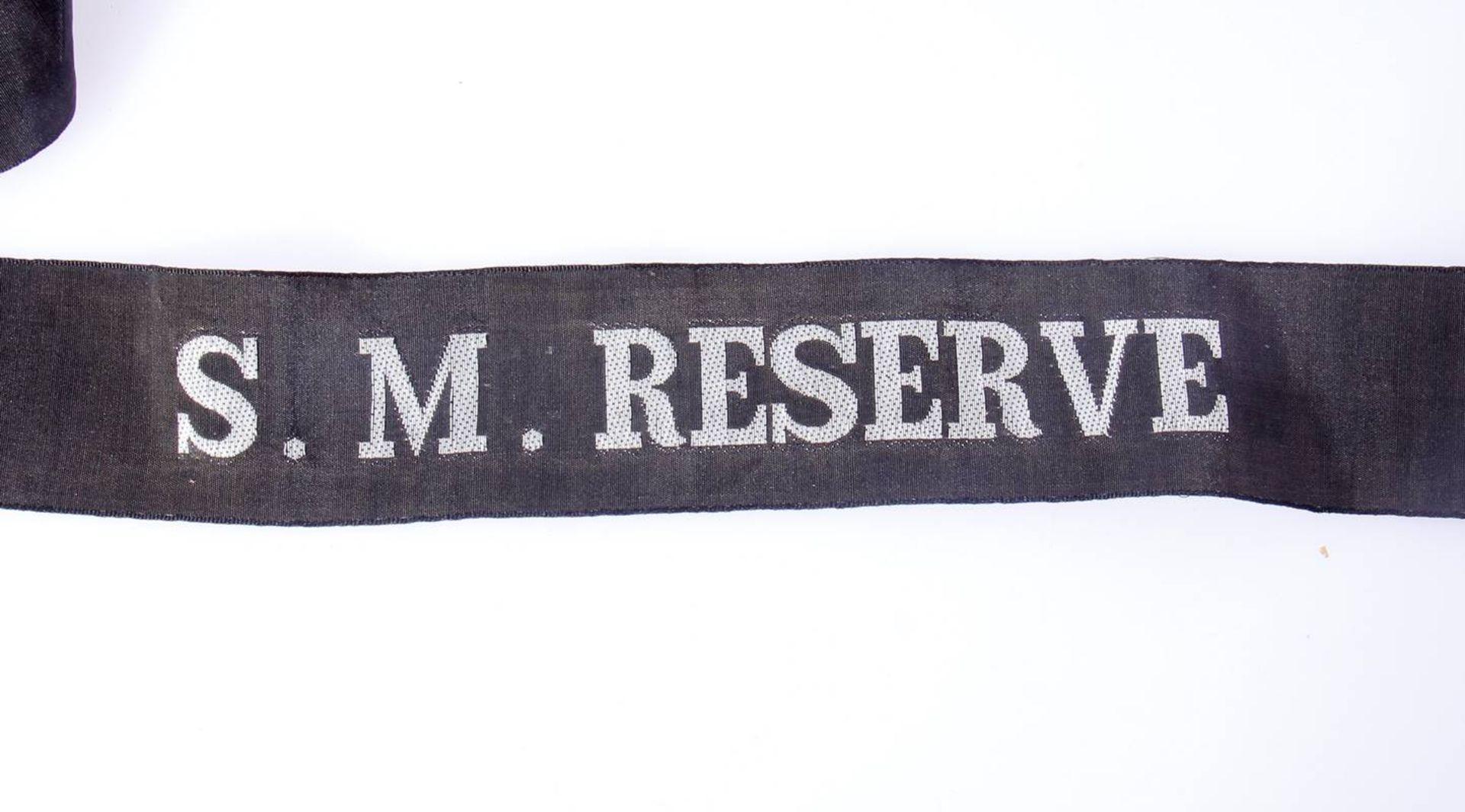 Reservisten Mützenbänder KaisserreichVerschiedene Mützenbänder und Reservebänder aus der - Bild 2 aus 7