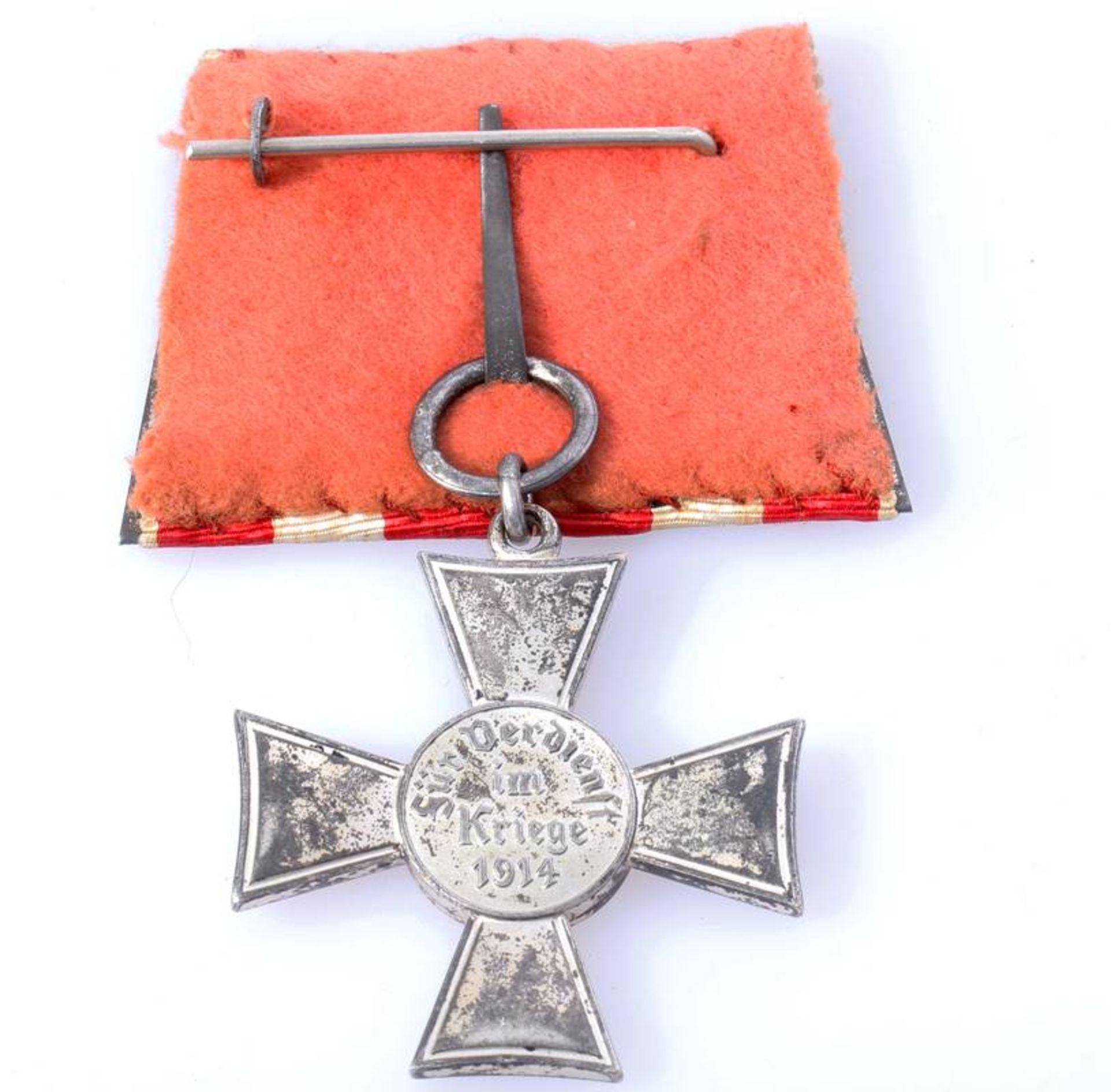 Hanseatenkreuz HamburgKreuz aufgehängt an der alten Form der Einzelschnalle. - Bild 2 aus 3