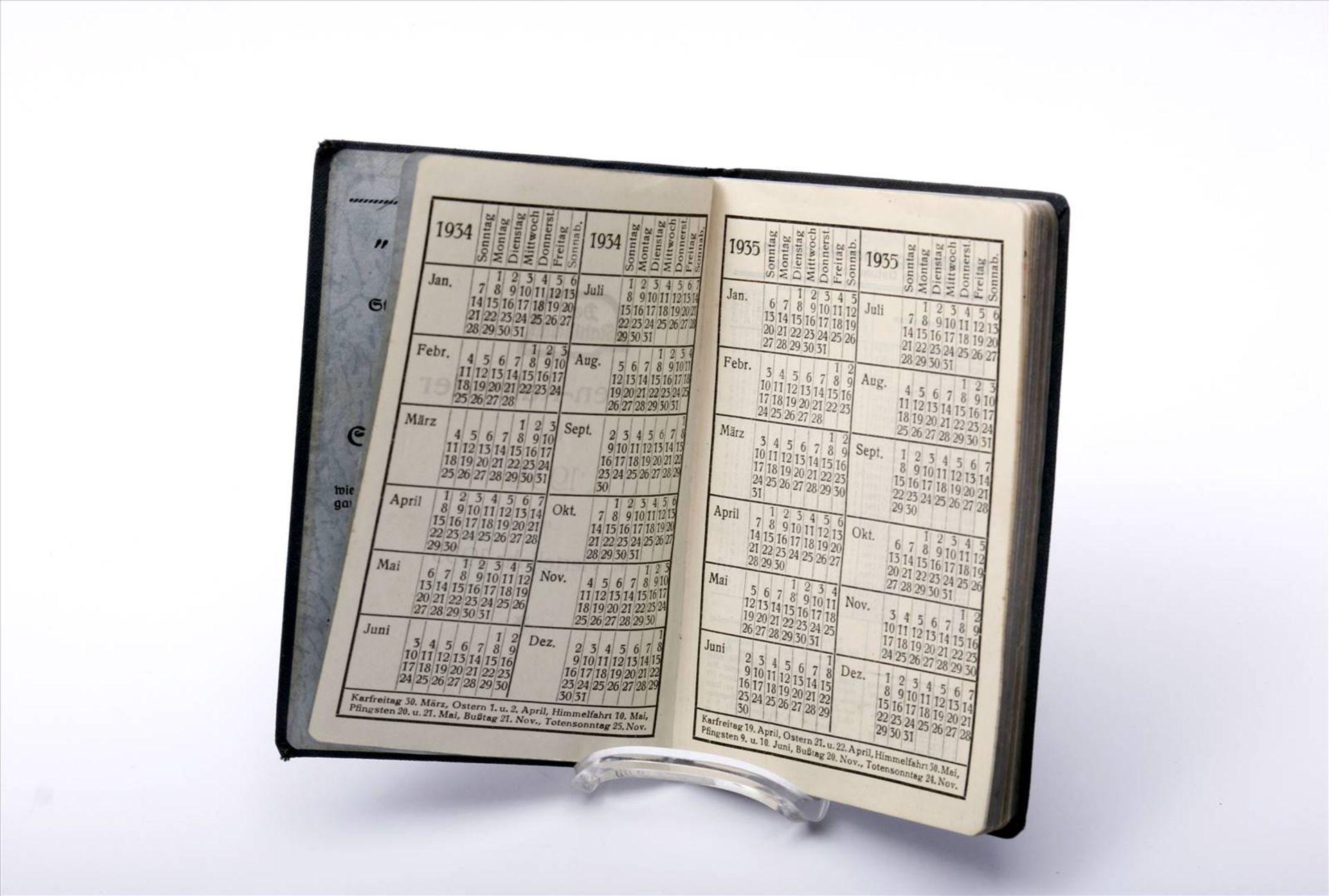 """Buch """"Der Stahlhelm, 1934"""", Taschenkalender - Bild 3 aus 5"""