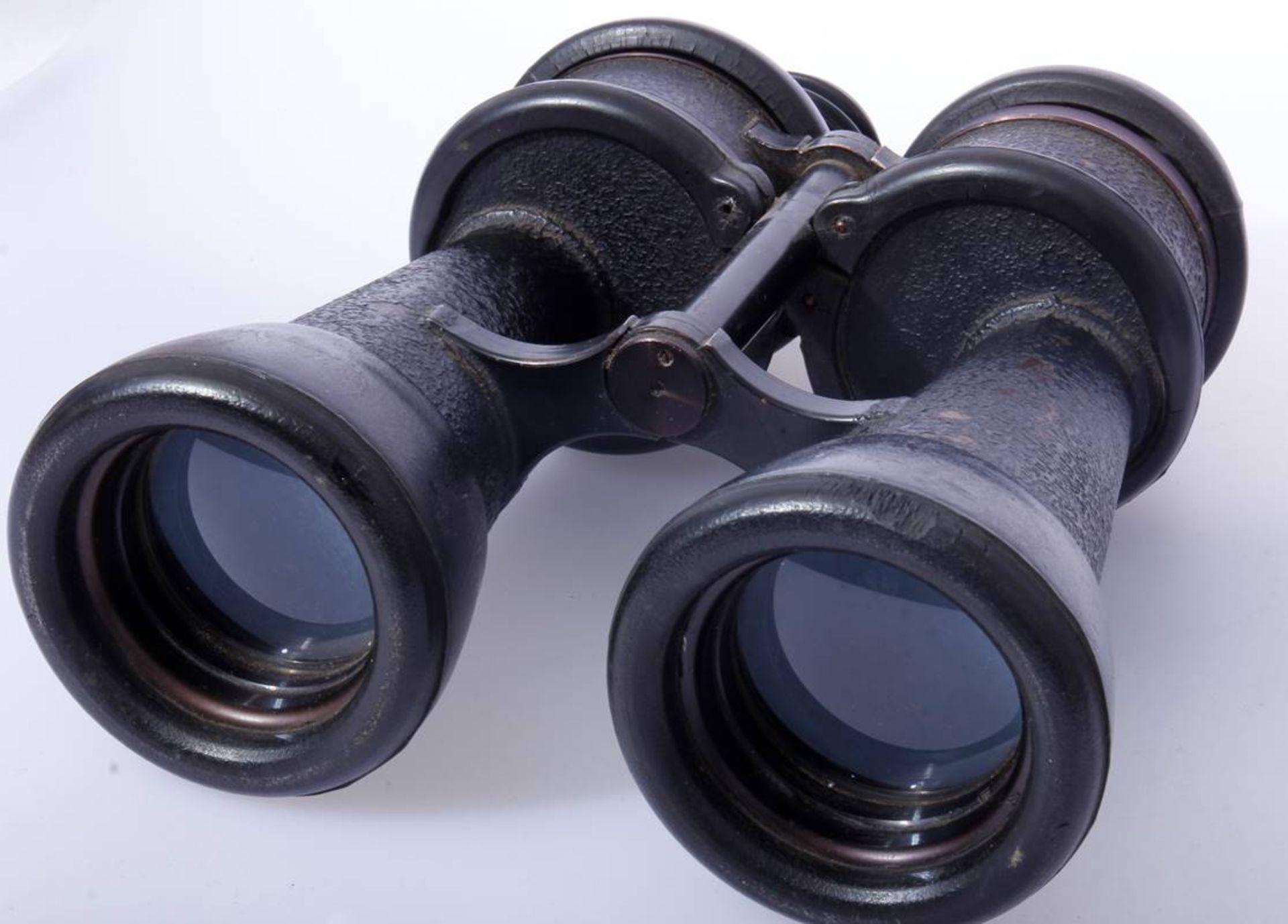 Kriegsmarine Uboot Fernglas für BrückenbesatzungenGroßes Schwarzes Fernglas der Kriegsmarine für - Bild 3 aus 6