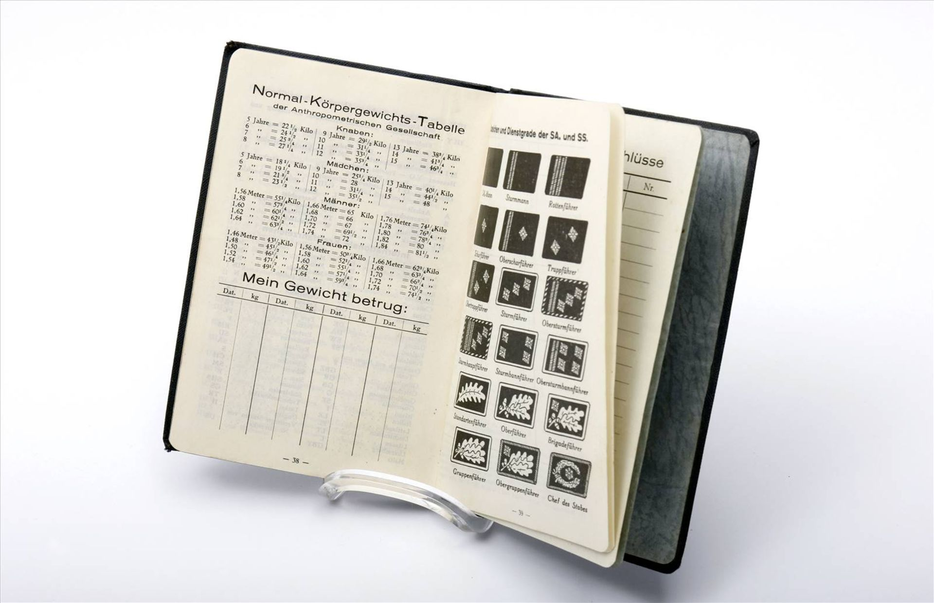 """Buch """"Der Stahlhelm, 1934"""", Taschenkalender - Bild 4 aus 5"""
