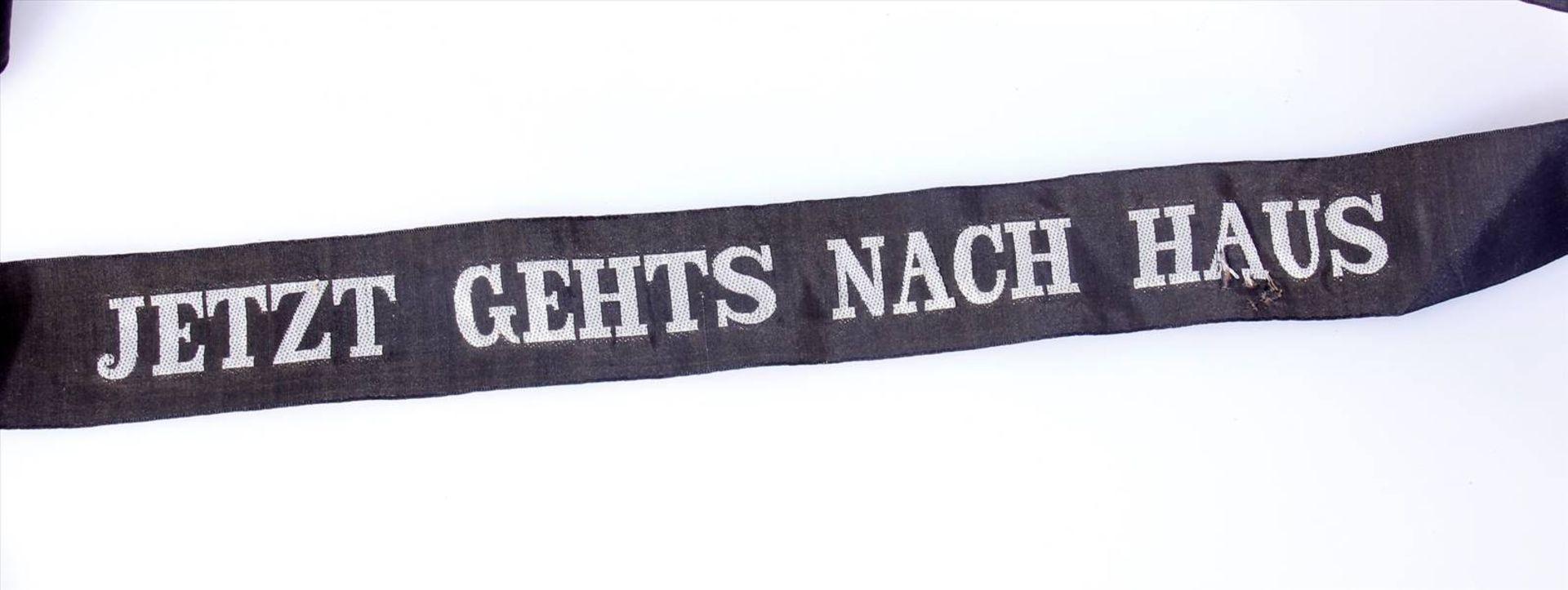 Reservisten Mützenbänder KaisserreichVerschiedene Mützenbänder und Reservebänder aus der - Bild 3 aus 7