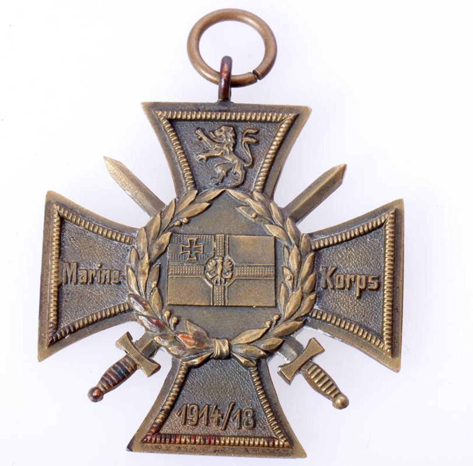 Erinnerungskreuz Marinekorps FlandernEhren- und Erinnerungskreuz Marinekorps Flandern (