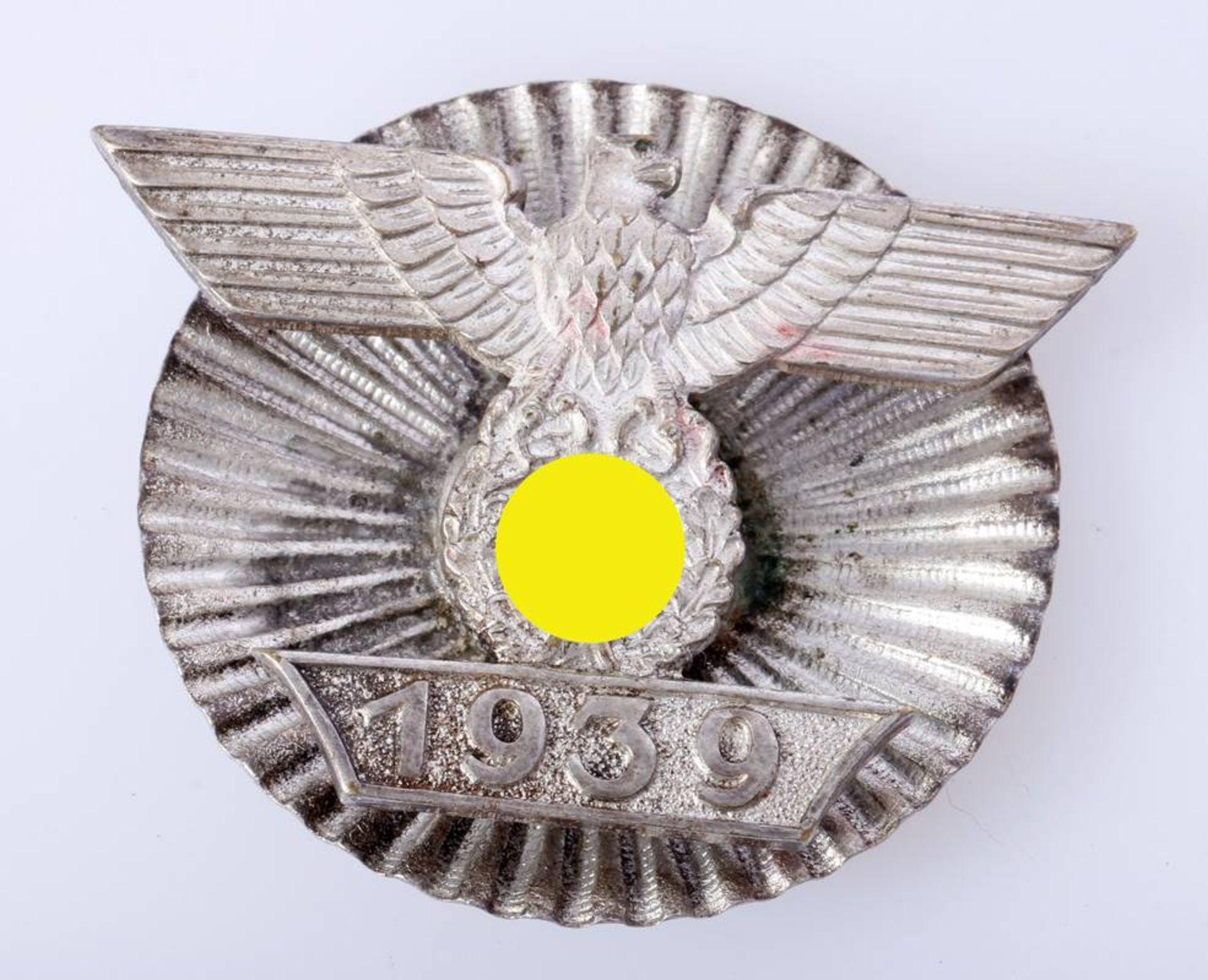 Wiederhohlungsspange zum EK1 1939 1. Form an SternschraubscheibeWiederhohlungsspange Eisernes