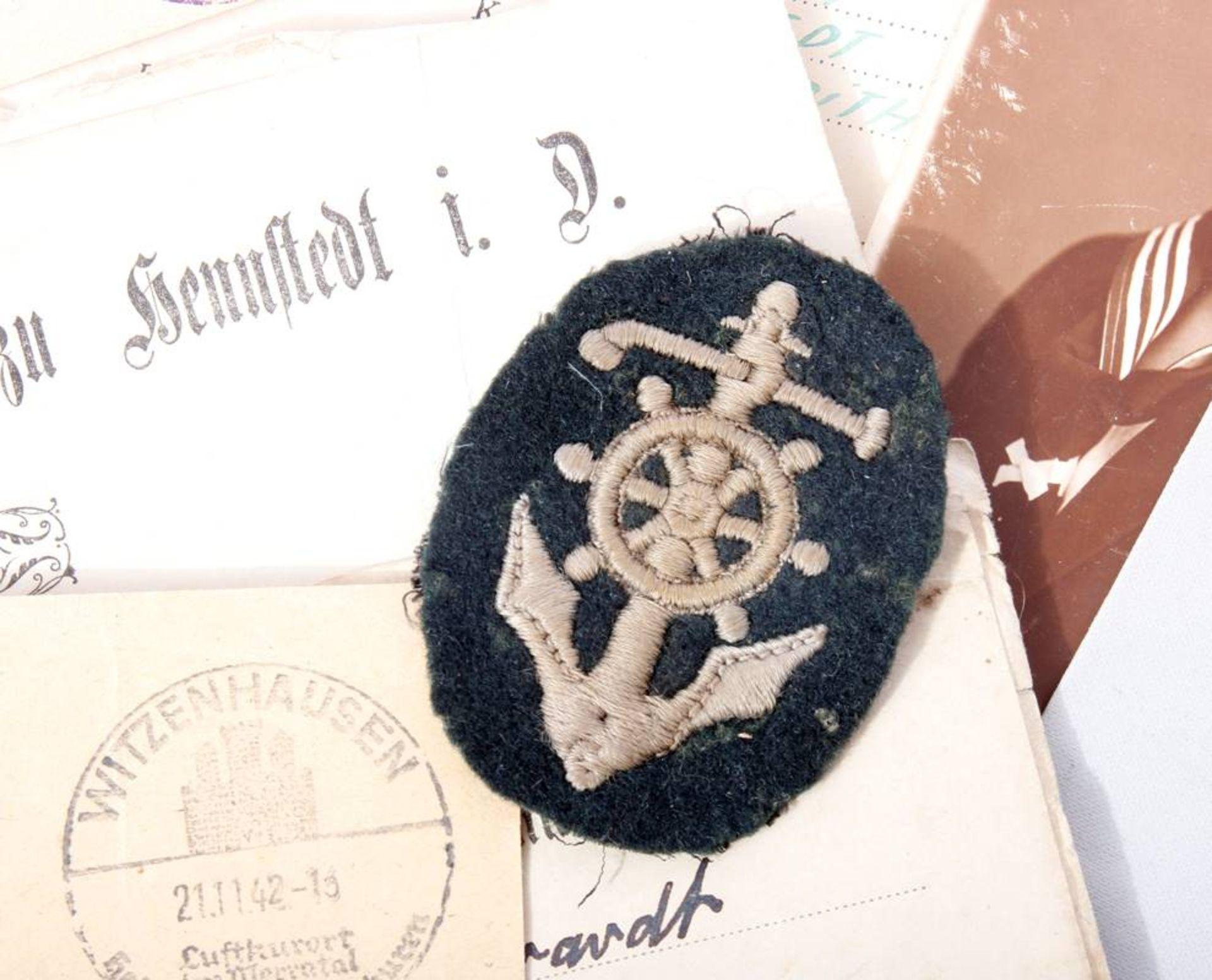 Nachlass eines Pionier Steuermanns für Sturmboote WehrmachtPapiere , Fotos und - Bild 2 aus 3