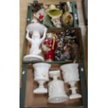 Lot 1270 - Collection of mid 20th Century ceramics, horses,