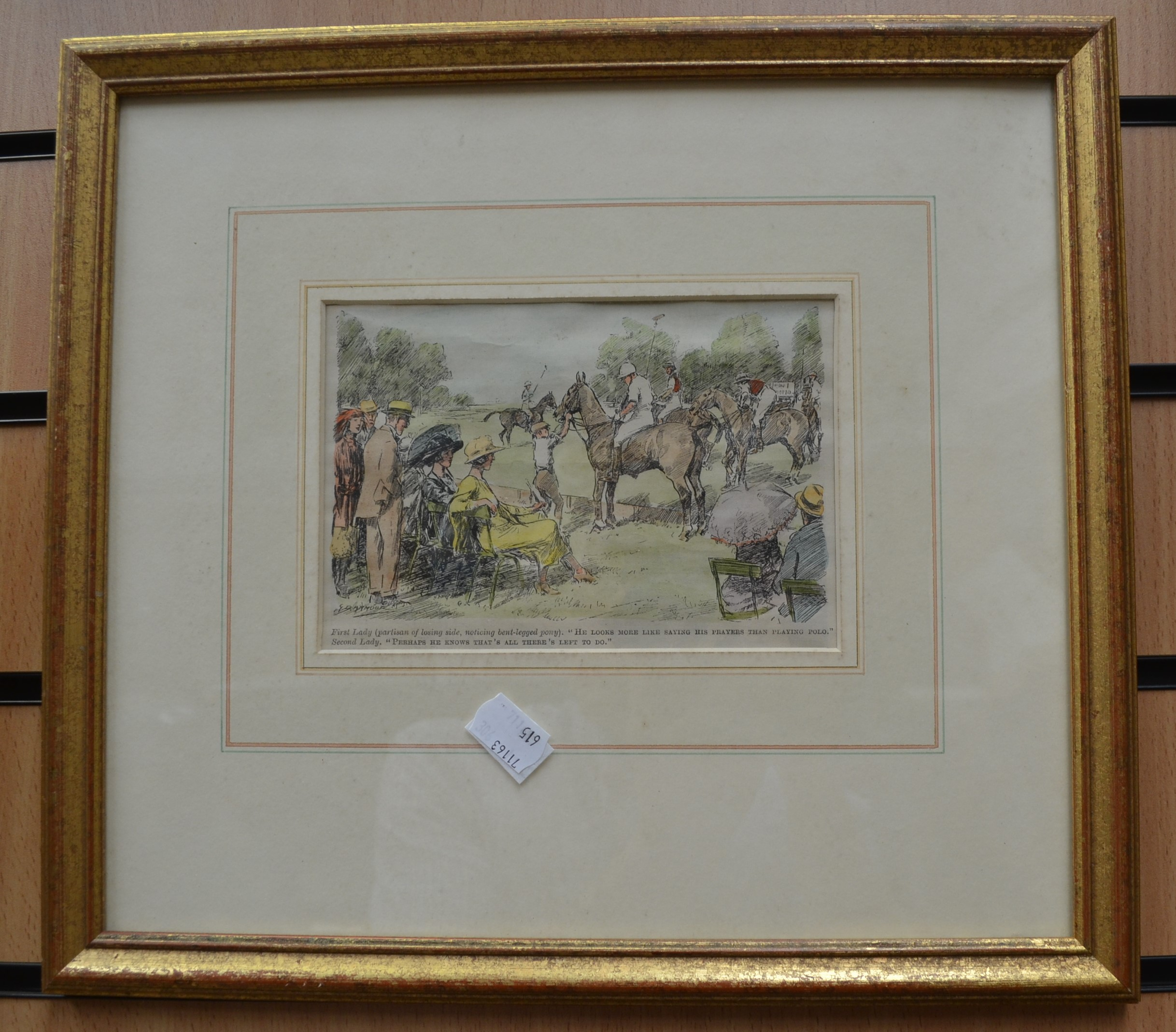 Lot 2091 - Collection of sporting prints