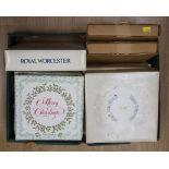 Lot 1373 - Collectors plates; two Spode Christmas plates, six Royal Doulton Christmas plates,