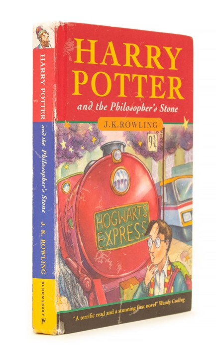 Lot 53 - Rowling, J.K. Harry Potter and the Philosopher's Stone, first edition, first issue [one of only