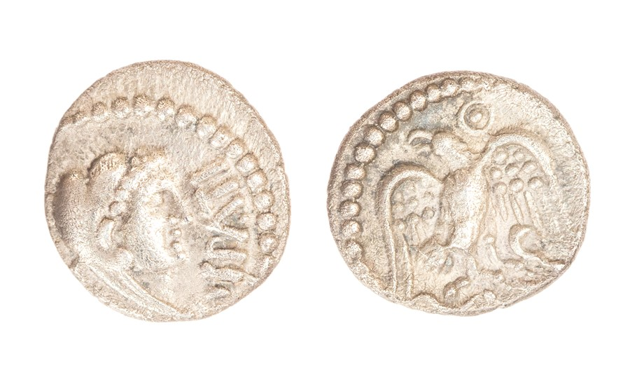 Lot 2 - An inscribed silver unit of the Southern Region/Atrebates and Regni, struck under Epaticcus (c. AD