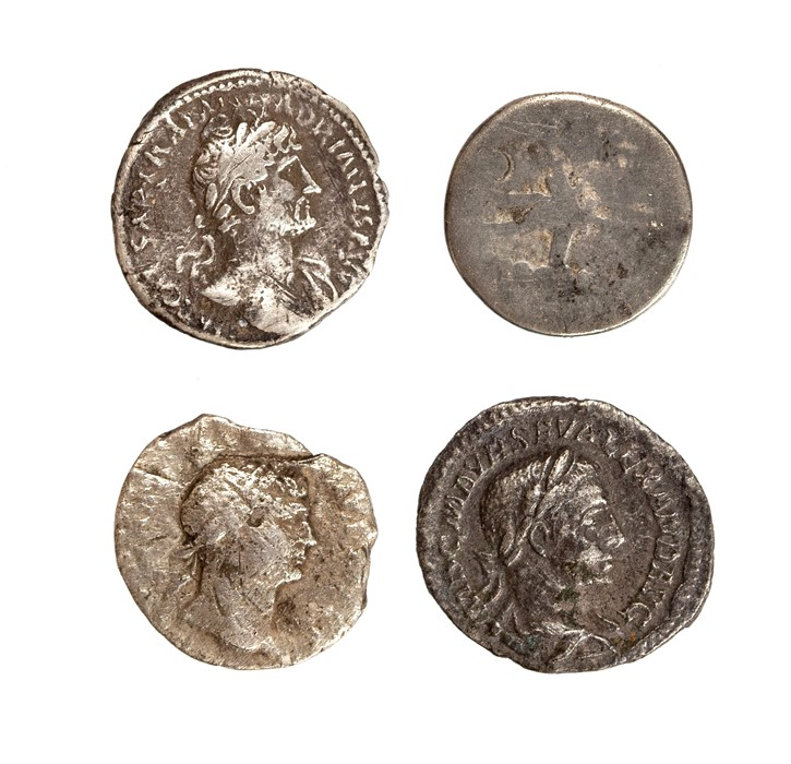 Lot 37 - A mixed lot of four silver Roman denarii. Represented in this lot: Republican 'Legionary' issue