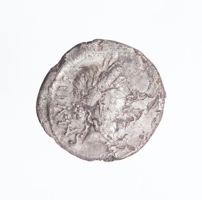 Lot 49 - A silver Roman Republican denarius of the moneyer M. Acilius Glabro, dating to c. 49 BC. Obverse: