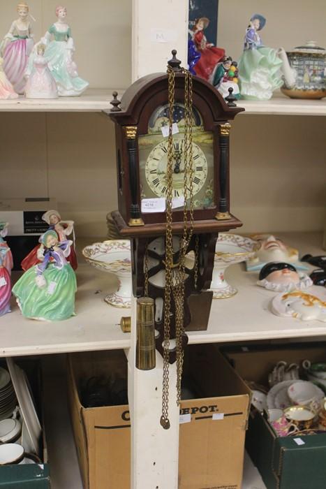 Lot 4016 - Late 20th Century German wall clock