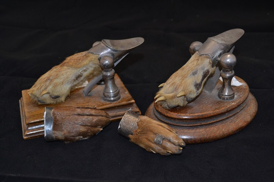 Lot 2131 - Dumfriesshire and Chiddingfold Hunt; Two silver hunt trophies with others