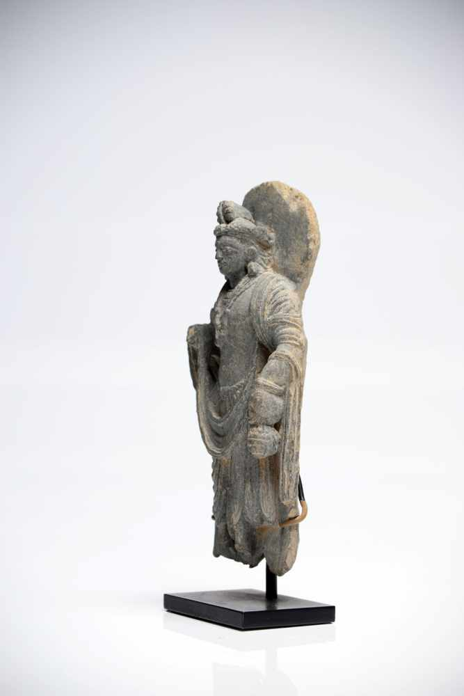 Lot 27 - Buddha MaitreyaGrey ChristGandhara4th ctH: 16 cmGandhara was an ancient state in present-day