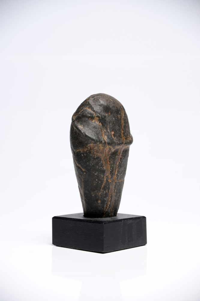 Lot 49 - PhallusStoneIndiaH: 11 cm16005