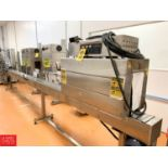"Lot 485 - Label Shrink Packer S/S Heat Tunnel, Model BSS-15388 with S/S Frame Product Conveyor, 176"" Long x"