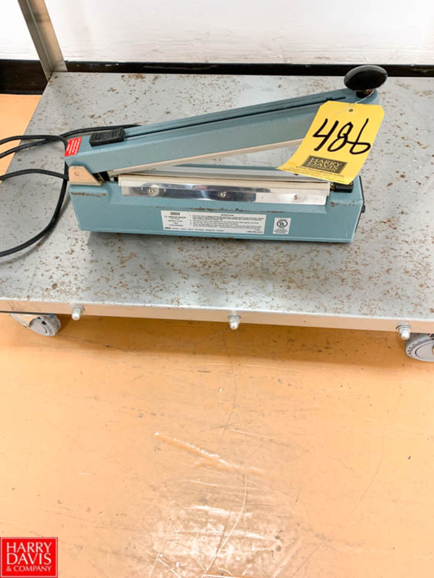 Lot 486 - Uline Heat Sealer Rigging Prices: 25