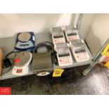 Lot 666 - Ohaus Printers, Digital Scales and Components Rigging Prices: 25
