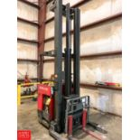 "Lot 784 - Raymond 3,000 LB Capacity Stand-Up Fork Lift with 330"" Max Lift, Model EASI DR30TT, S/N EZ A-99-"