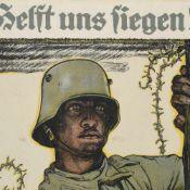 Plakat Erster Weltkrieg Farblithografie nach dem Entwurf von Fritz Erler (1868 Frankenstein -