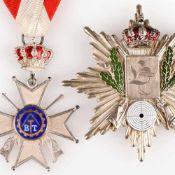 Historische Schützenauszeichnungen Sachsen - III. Reich insg. 4 Stück aus Crimmitschau, dabei: 1 x