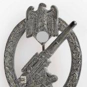 """Kampfabzeichen III. Reich Heeres-Flakabzeichen, rs. senkrechte Nadel, Herstellerzeichen im Kreis """""""