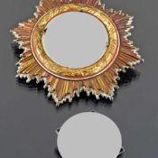 Auszeichnung III. Reich Deutsches Kreuz in Gold, Swastika ausgetauscht (alte beschädigte anbei),