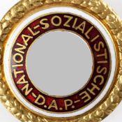 """Abzeichen III. Reich Goldenes Ehrenzeichen der NSDAP, große Ausführung, rs. nummeriert """"29764"""","""