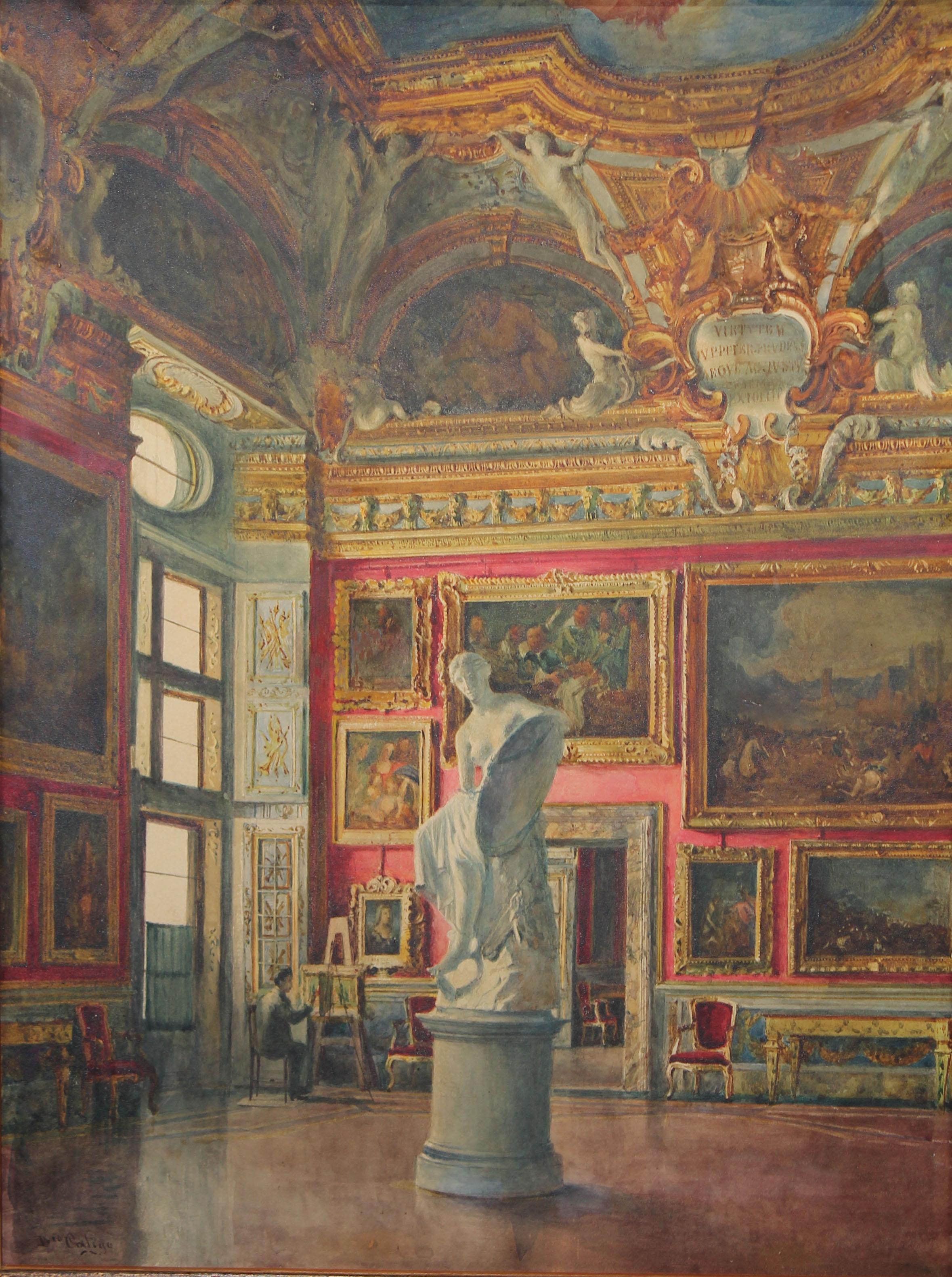 Lot 68 - Domenico Caligo (fl. 1862-1880) Pitti Palace
