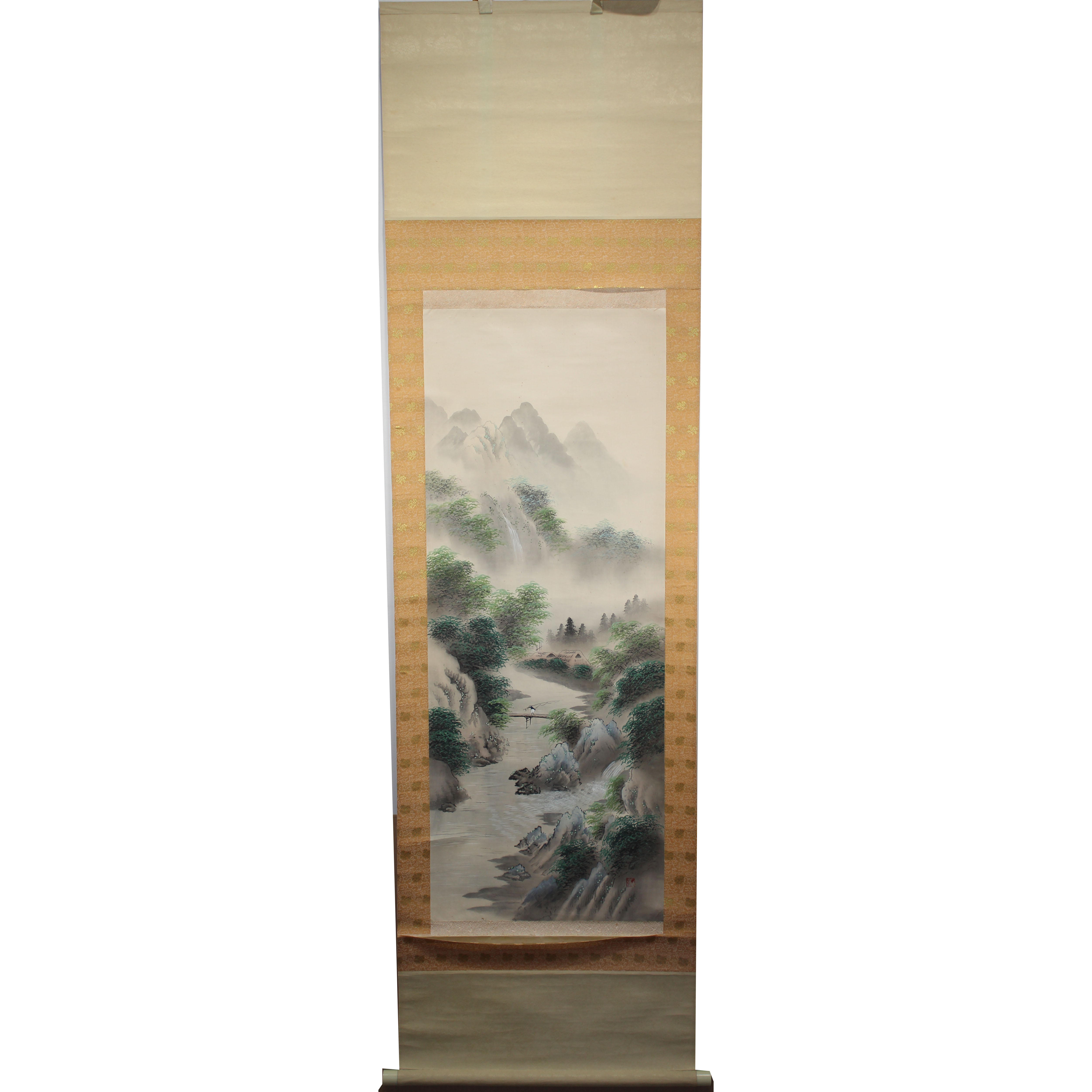 Lot 272 - Signed, Chinese Scroll Painting