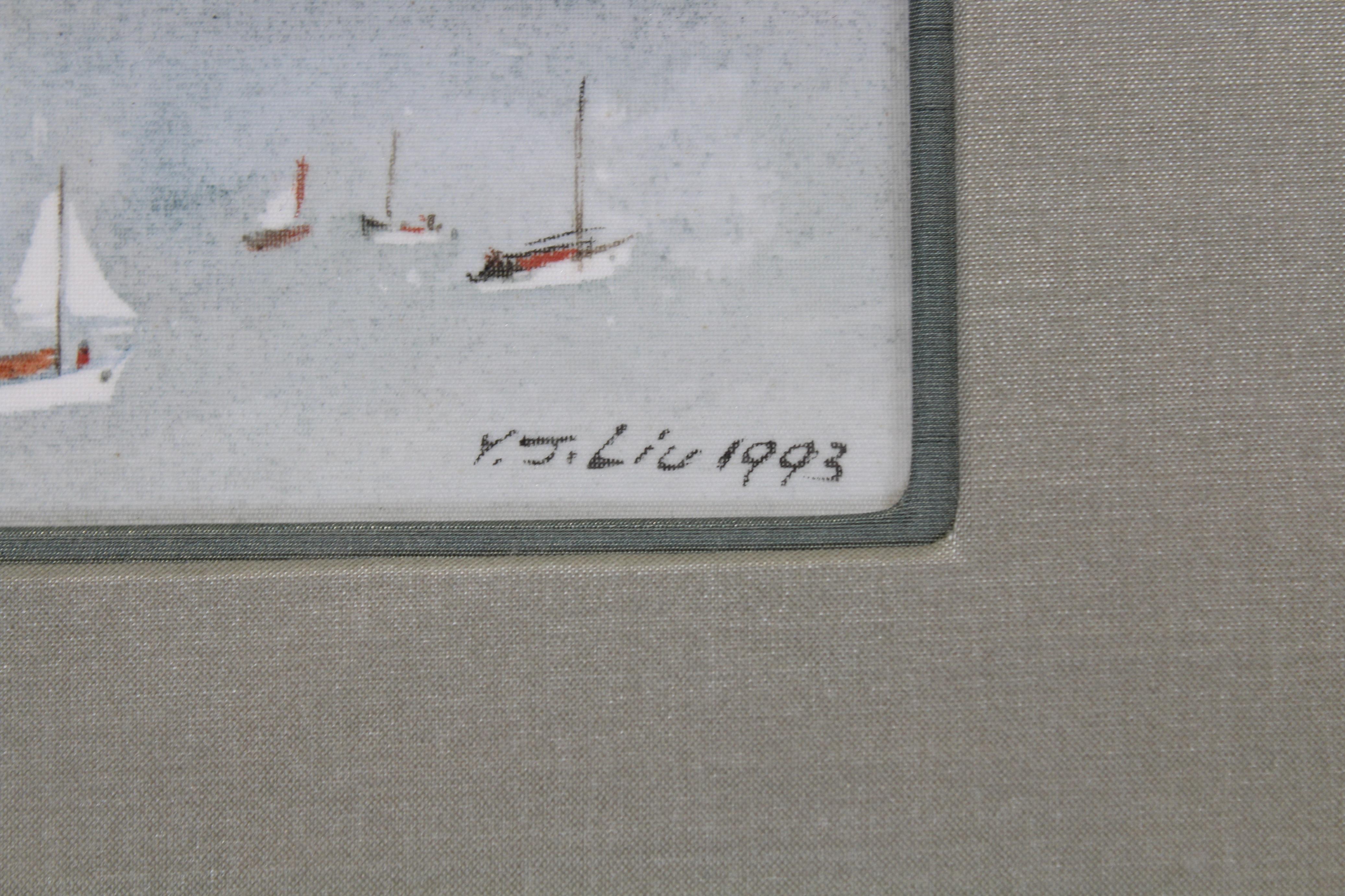 Lot 205 - James Y.J. Liu (B. 1910) San Francisco
