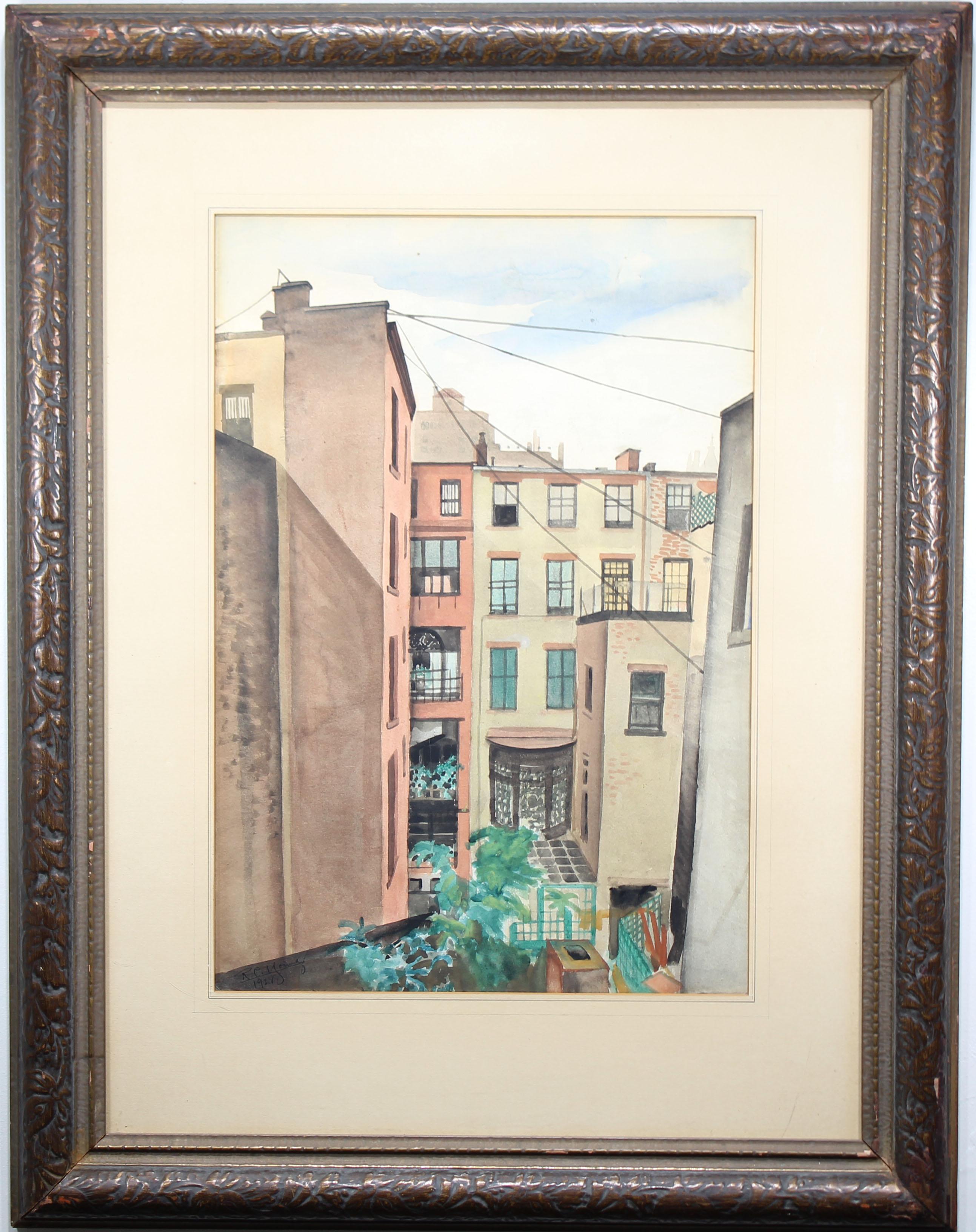 Lot 219 - Richard Young (mid-20th C.) New York City
