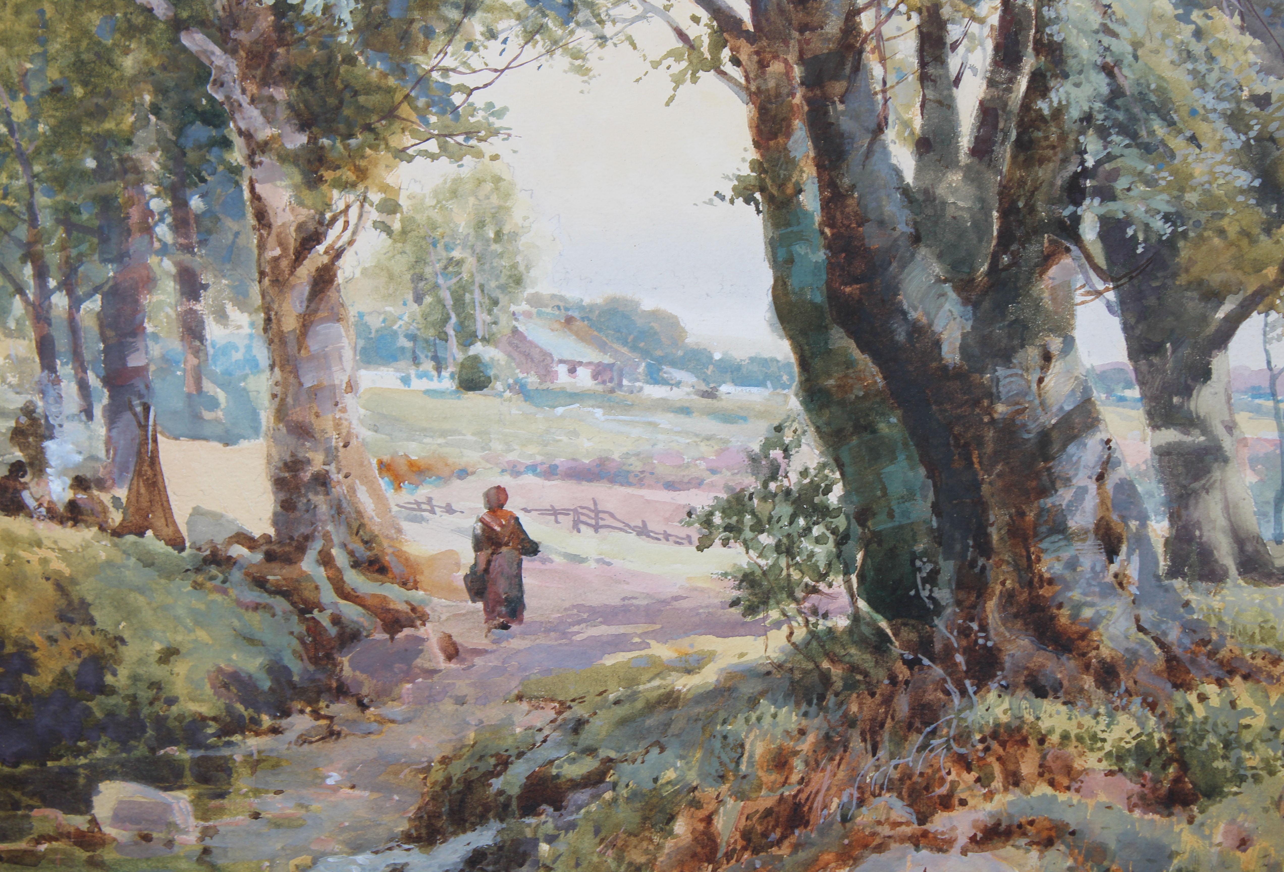 Lot 24 - Henri-Joseph Harpignies (France, 1819 - 1916)