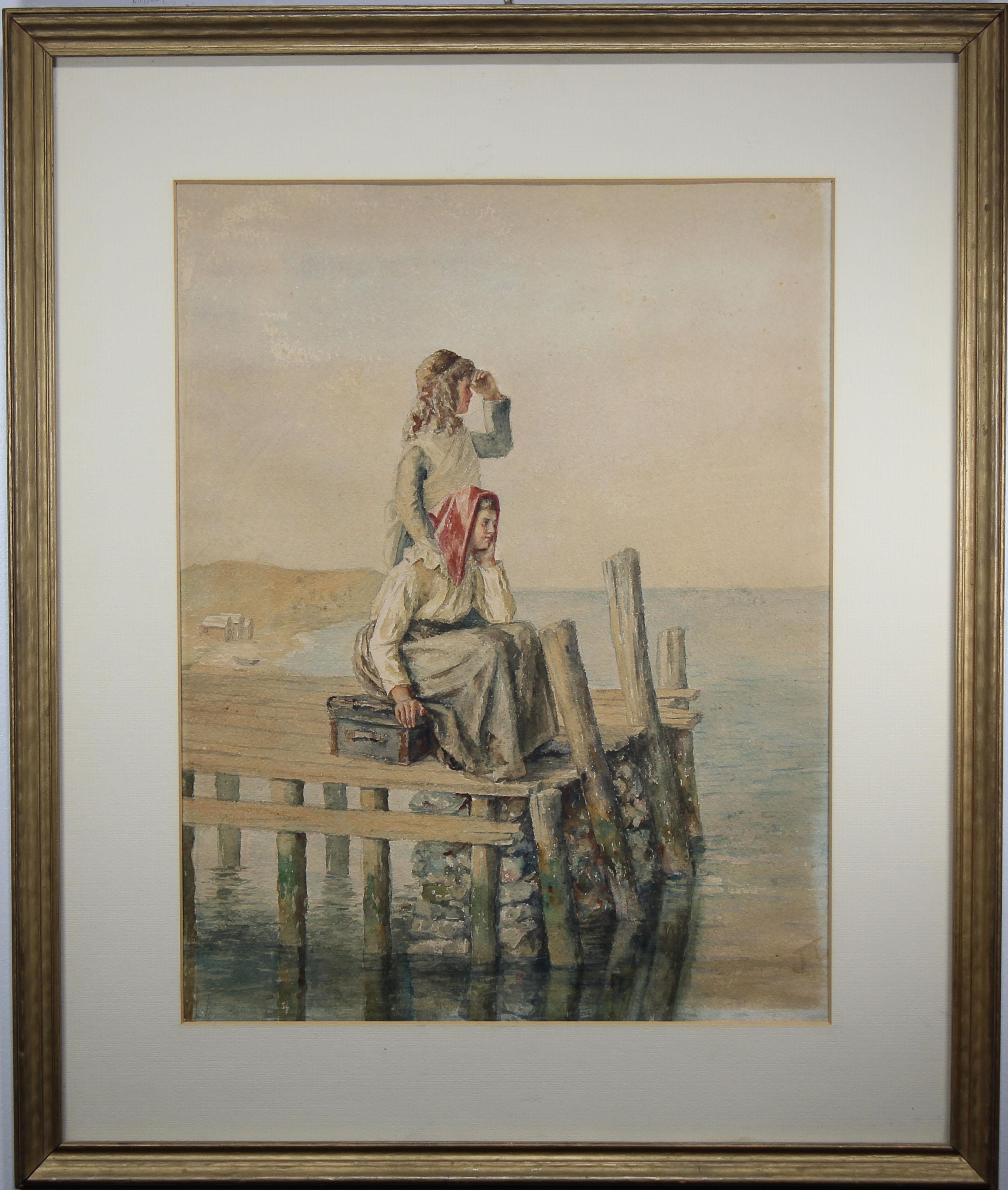 Lot 270 - Signed, 19th C. European School Watercolor