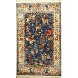 Lahor, Persien, ca. 60 Jahre, Wolle auf Baumwolle, ca. 256 x 156 cm, EHZ: 2-3Lahore Rug (The