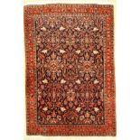 Bidjar Kork fein, Persien, ca. 40 Jahre, Korkwolle, ca. 167 x 114 cm, EHZ: 2Kurk Bijar Rug,