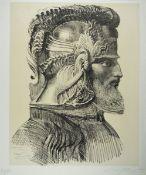 Ernst Fuchs, 1930-2015, Artifex mystikus, Lithographie, handsigniert, num. 40/80, ca. 68x54cm,