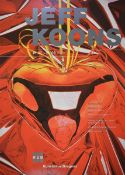 Jeff Koons, geb. 1955, Red Heart, Kunsthaus Bregenz 2001, Farboffset, handsign., dat. 9/21/02 ,