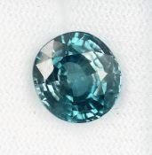 Loser Zirkon, ca. 8.97 ct, blau, facett. Schätzpreis: 700, - EURLoose zircon approx. 8.97 ct , blue,
