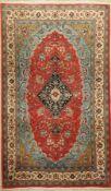Sarogh, Persien, ca. 40 Jahre, Wolle auf Baumwolle, ca. 224 x 135 cm, EHZ: 2Saruk Rug, Persia,