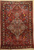Bachtiar, Persien, um 1950/60, Wolle auf Baumwolle, ca. 206 x 143 cm, EHZ: 3Bakhtiar Rug, Persia,