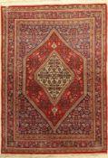 Bidjar alt, Persien, ca. 40 Jahre, Wolle auf Baumwolle, ca. 161 x 115 cm, EHZ: 2Bidjar Rug,