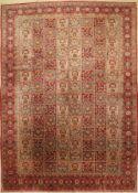 Keschan alt, Persien, ca. 60 Jahre, Wolle auf Baumwolle, ca. 409 x 293 cm, Ghom Design, EHZ: 3 (