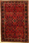 Sarogh antik (Us Re-Import), Persien, Ende 19.Jhd.,, Wolle auf Baumwolle, ca. 191 x 131 cm, EHZ: