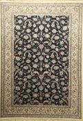 Nain, Persien, ca. 40 Jahre, Wolle auf Baumwolle, ca. 291 x 206 cm, EHZ: 2-3(Flecken)Nain Carpet,